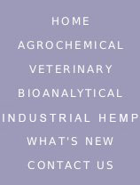Nav Bar: Home, Agrochemical, Veterinary, Biotechnology, What's New, Contact Us